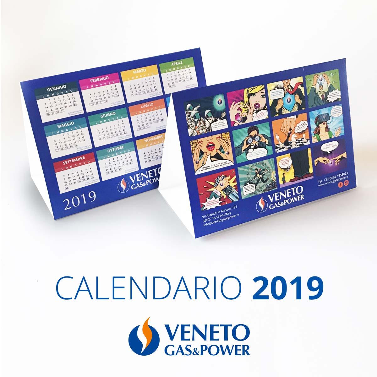 Calendario Veneto.Ritira In Nuovo Calendario 2019 Veneto Gas Power